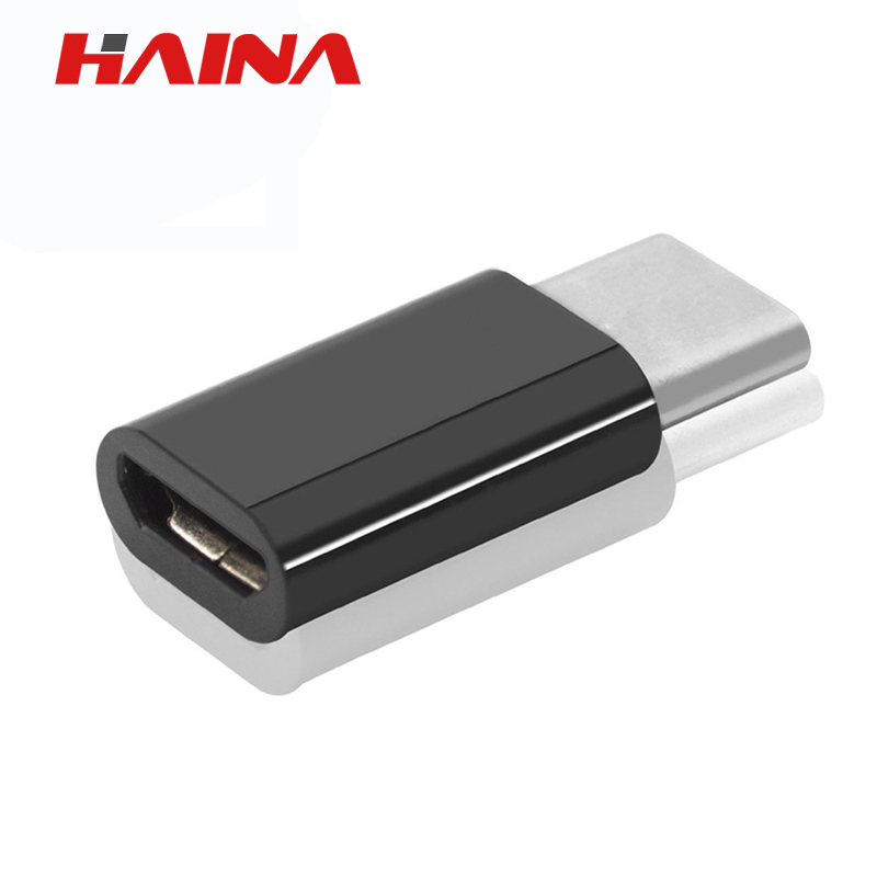 USB 3.1 Type C Male To Micro USB 5pin Female Microusb Data Charger Adapter Cable For Apple Macbook 12 Inch One Plus Two 2