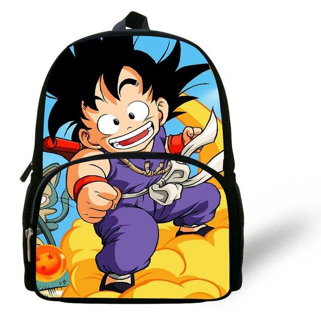 12-inch Cartoon Characters Sun Wukong Backpack Dragon Ball School Bags For  Boys Print Children Backpack Mochila Escolar b0cf45c9c6539