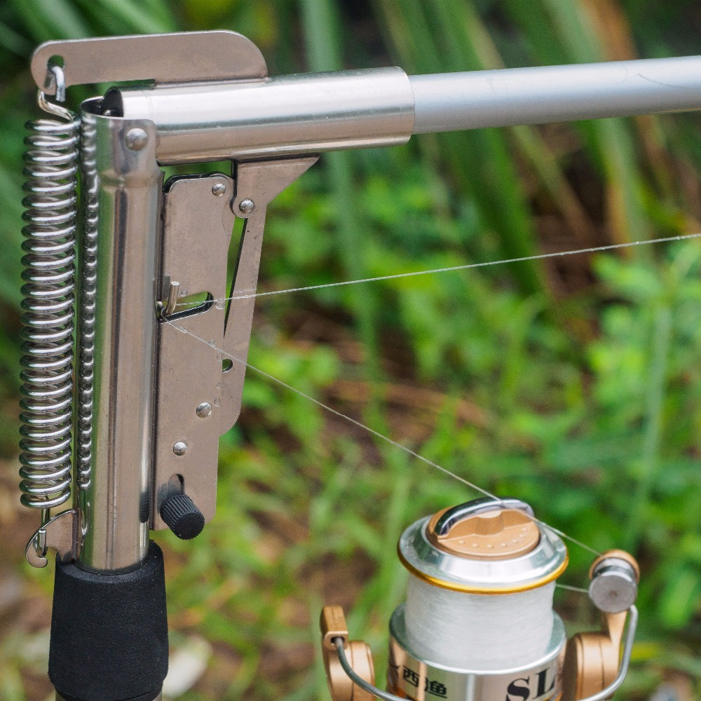 1.8/2.1/2.4/2.7m Automatic Fishing Rod Sea River Lake Stainless Steel Fishing Automatic Rod Fish Pole Hard with Storage Bag