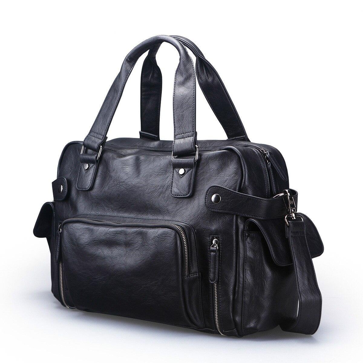2017 Genuine Leather bag Business Men bags Laptop Tote Briefcases Crossbody bags Shoulder Handbag Men's Messenger Bag 9103 fashion leather bag business men bags laptop tote briefcases crossbody bags shoulder handbag men s messenger bag