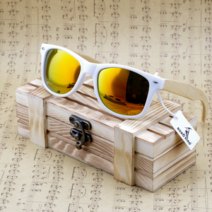 Image 2 - BOBO BIRD Handmade Sunglasses Women 2020 New Fashion Bamboo Legs Eyewears Colorful Polarized Lens Glasses oculos de sol feminino