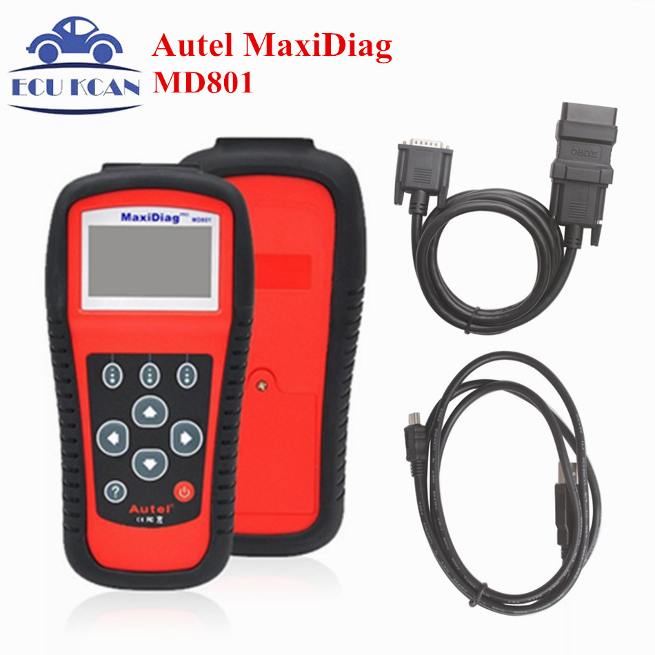 Top-Rated Maxidiag Autel MD801 pro maxidiag MD801 4 in 1  OBD2 Scan Tool MD801 Code Reader autel md801 pro 4 in 1 code scanner jp701 eu702 us703 fr704 maxidiag pro md 801 code reader