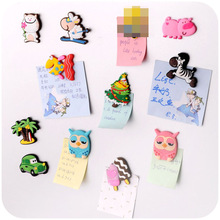 Cartoon animal Silica gel fridge magnets whiteboard sticker Refrigerator Magnets kids gift funny refrigerator Home decoration
