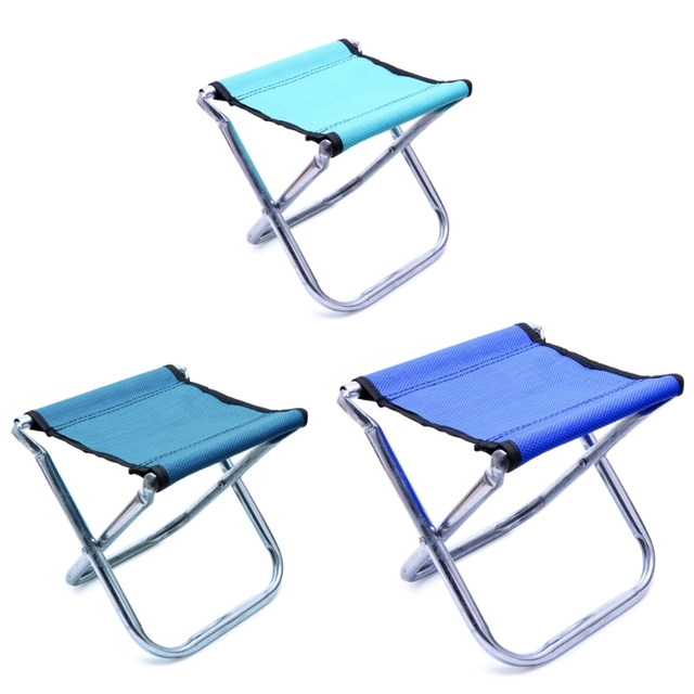 Portable Folding Chair Stool Seat Outdoor Fishing Camping Travel Picnic  Hiking