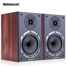 Nobsound NS-602 дерево 100 Вт 1 пара 6,5 дюймов книжная полка динамик s 2,0 HiFi Колонка звук дома Профессиональный динамик