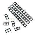 50x 18650 Battery Spacer Radiating Shell EV Pack Plastic Heat Holder Bracket