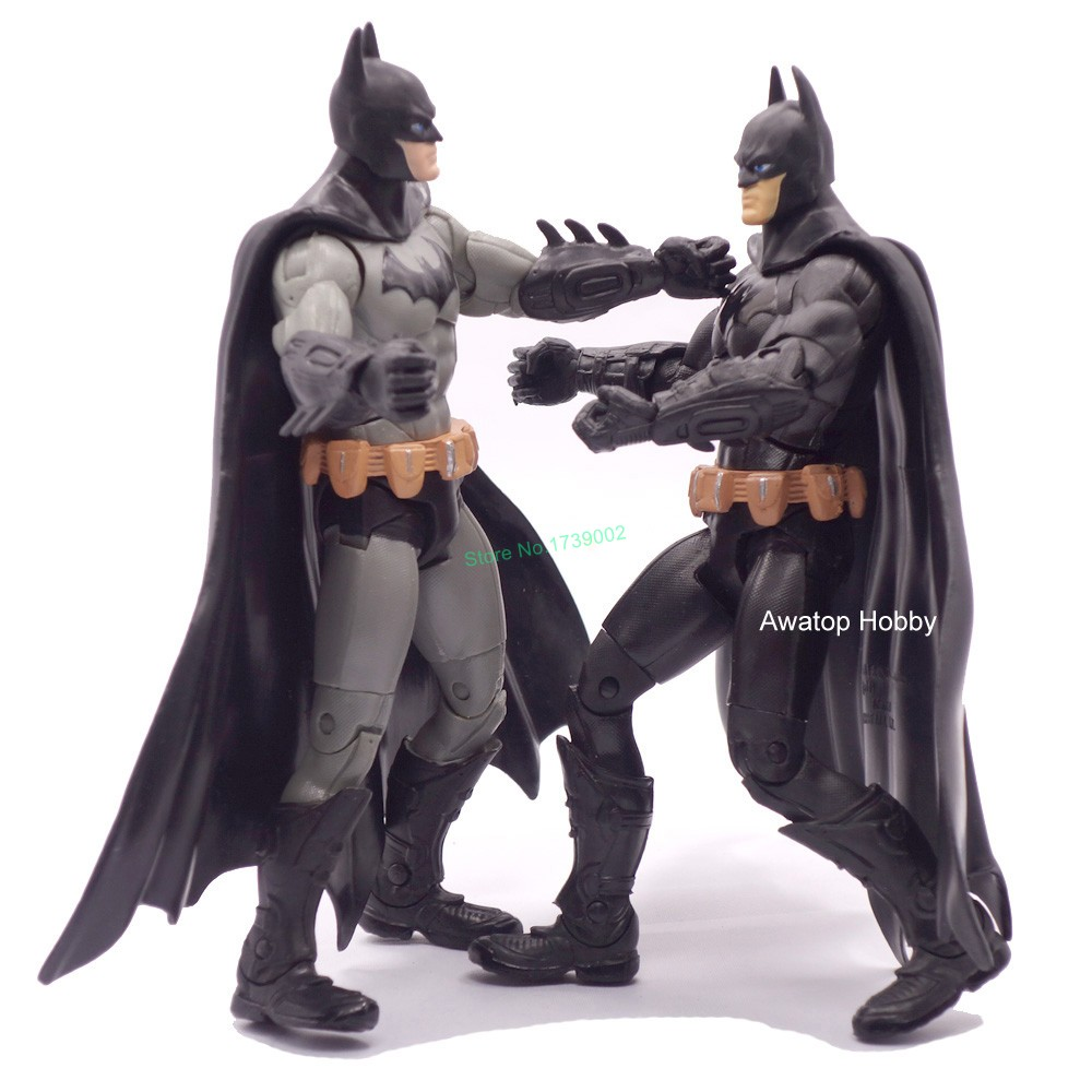 7 18cm Dark Knight Batman Superhero Action Figure Superhero Robot classic toys Collection Christmas Gift For Boy Kids Children cute pet rare color sausage short hair dog action figure girl s collection classic anime christmas gift lps doll kids toys