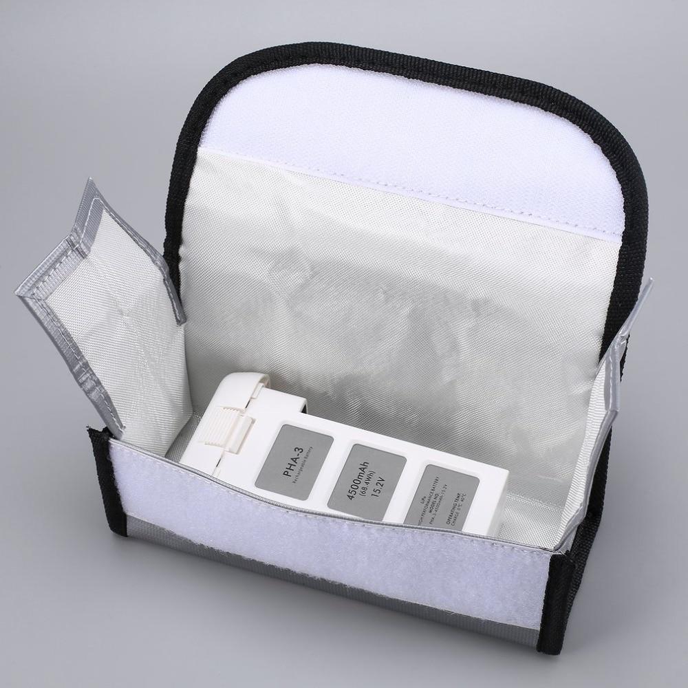 4500 mAh 15,2 V 4S интеллектуальная летная LiPo батарея с безопасной сумкой для DJI Phantom 3 SE профессиональный высокотехнологичный стандарт RC Дрон - 5