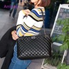 2018 Luxury Brand Women Plaid Bags Large Tote Bag Female Handbags Designer Black Leather Big Crossbody Chain Messenger Bag Girl 1