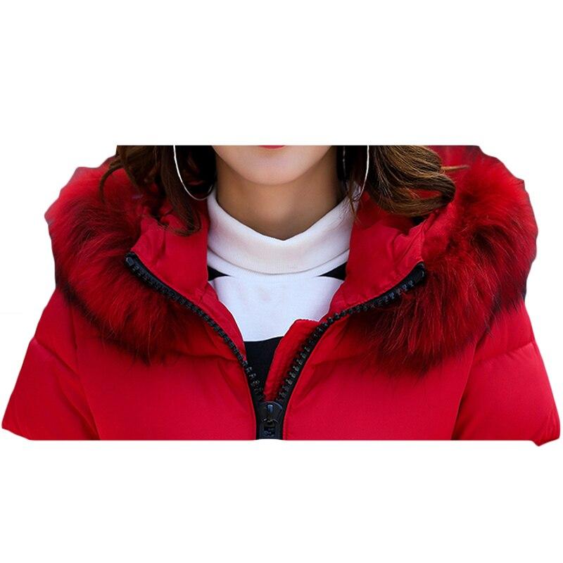 À Manteau 2017 Veste rose Fourrure Et Femmes rouge army Qualité Luxueux Avant kaki Survêtement Green Zipper Noir Chaud Grand Parka gris Hiver Xh732 Long De Bonne Poches Capuchon tqvF58q