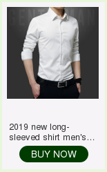 2019 spring new men's shirt Korean version of the self-cultivation youth casual business cotton shirt tide men's boutique shirt 11
