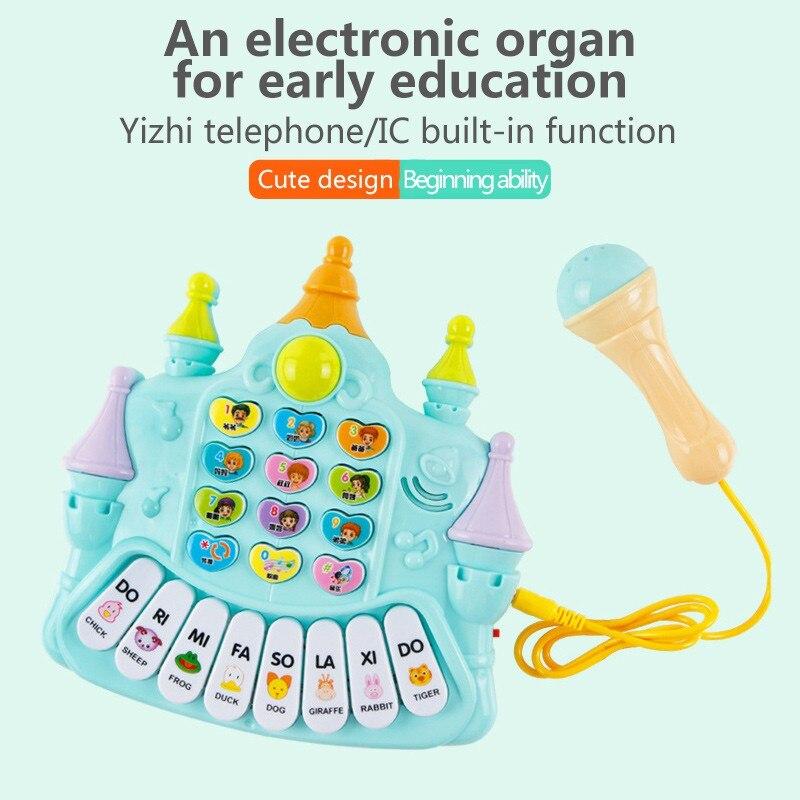 MUQQ baby children kids instrument music microphone telephone toy