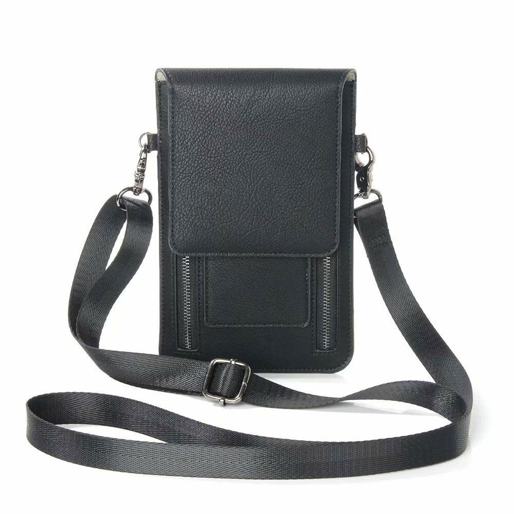 Universel D'épaule Femmes Sac Pour le mobile téléphone taille que sous 6.3 pouce Carte Poche Cas de Téléphone portable Sacs Walle paquet Poche