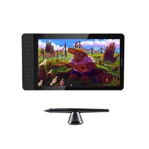 Цифровой графический монитор GAOMON PD1560 HD 1920x1080 IPS, ручка для рисования, дисплей с 10 быстрыми кнопками и регулируемой подставкой