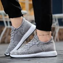 Lightweight Sneakers Mens Shoes Sport Trainers  Breathable Soft Comfortable 2019 Spring Summer