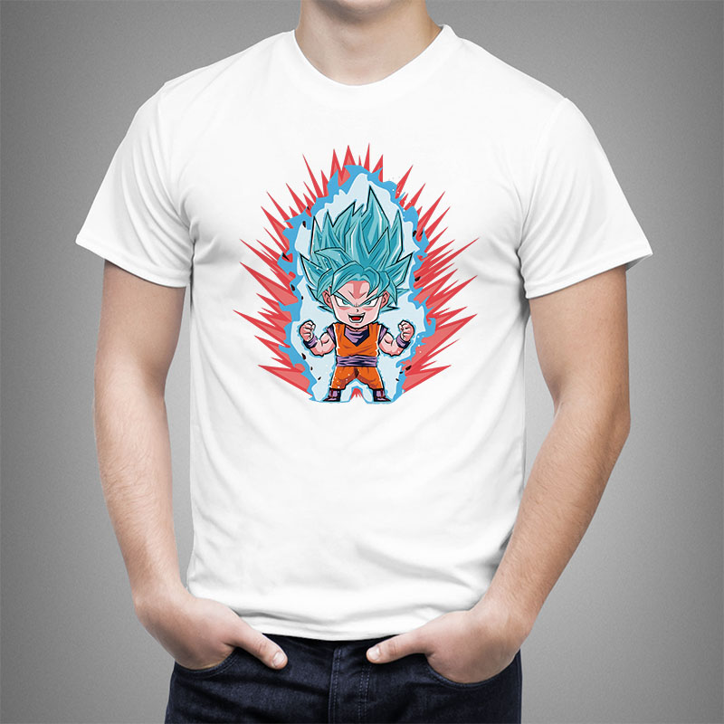 2018 New Arrivals Fashion Dragon Ball Z T shirt Men Women Design Tops customize Printed Short