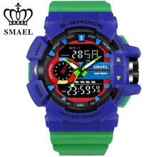 S Shock Sport Watches for Men 30M Waterproof Analog LED Digital Watch Military Army Clock Male Dive Quartz Watch Men GiftsWS1436