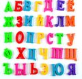 33pcs 3.5cm BOHS Russian Alphabet Magnetic Letters ,Baby Educational & Learning Toy,  Refrigerator Message Board