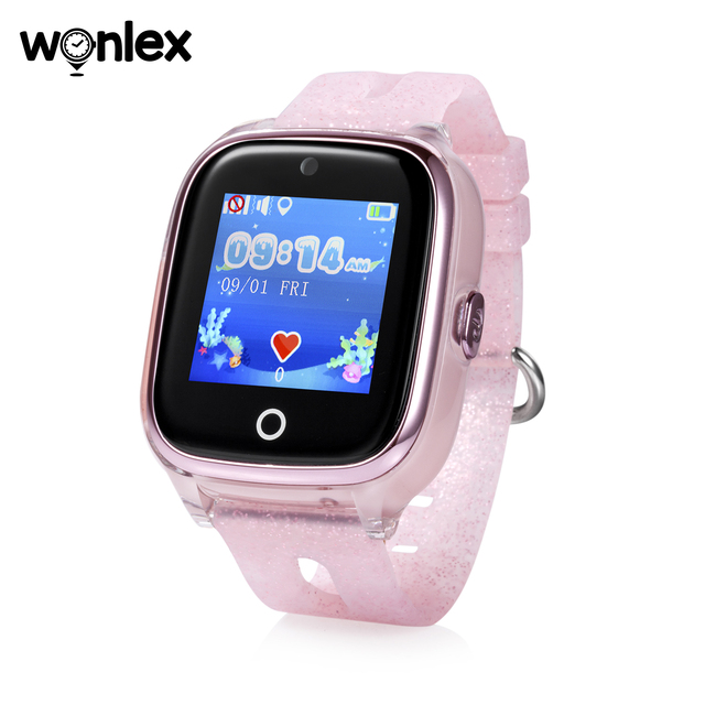 Wonlex Kids Smart Wifi Watch Waterproof IP67 Swimming Sporting Watch SOS Help GPS Positioning Wearable Anti-lost SeTracker KT01 1