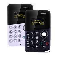 New Arrival Mini Card Phone AIEK AEKU M8 Color Screen Card Phone Quad Band Low Radiation