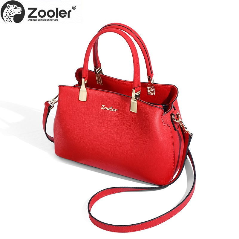 wedding bag!2019 new ZOOLER genuine leather bag Luxury woman bag large capacity elegant solid handbag high quality tote-T502wedding bag!2019 new ZOOLER genuine leather bag Luxury woman bag large capacity elegant solid handbag high quality tote-T502