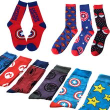 Lionzone 20Pairs/Lot Men Happy Socks Funny British Style Skateboard Hip Hop Cotton