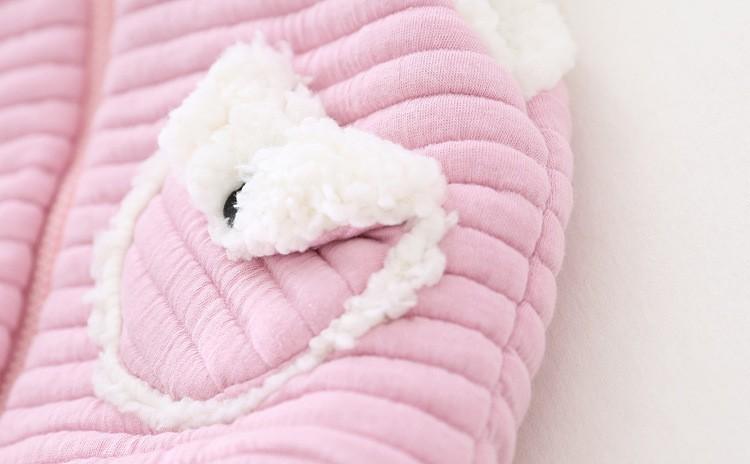 baby girl winter warm fleece vest jacket waistcoat hooded (1)