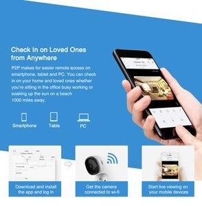Image 5 - SANNCE  2pieces HD 1080P Fisheye IP Camera Home Security Camara Wireless Wifi Mini Camara Night Vision IR Cut Wi Fi Baby Monitor