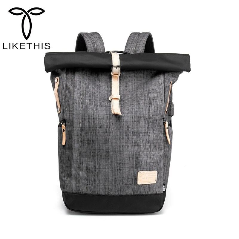 Men Backpack 15.6 Inch Laptop Backpacks Multifunction Oxford Large Travel  Bag Male School Student Back Pack RucksackMen Backpack 15.6 Inch Laptop Backpacks Multifunction Oxford Large Travel  Bag Male School Student Back Pack Rucksack