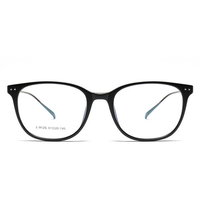 2016 Новый Классический Ретро Tr90 Оптические Очки Металлический Каркас Ногу Очки По Рецепту очки Рамки Óculos Де Грау Masculino TG912