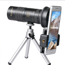 줌 단안 10 100x30 망원경 hd 휴대용 휴대 전화 카메라 망원경 망원경 쌍안 사냥 골프 관광 촬영