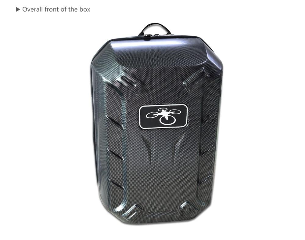 2017 Black phantom 4 Hardshell Bag Backpack Shoulder Carry Case Box for DJI Phantom 4 Standard FPV Drone Quadcopter waterproof backpack shoulder hardshell carry case bag for dji mavic pro collapsible quadcopter drone
