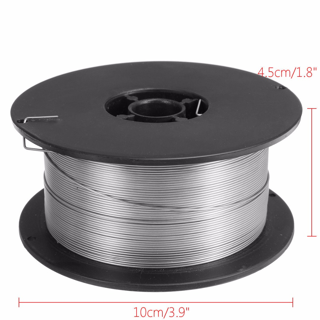 1 Roll Stainless Steel Welding Wire 0.8mm 500g/1kg Flux Cored Welding Accessories for Food/General Chemical Equipment 500g roll 0 6mm 500g 60 40 flux 2 0