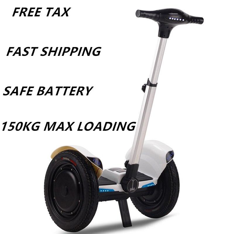 Spiksplinternieuw Gratis verzending 500 w electro scooter hover board en oxboard-in LX-98