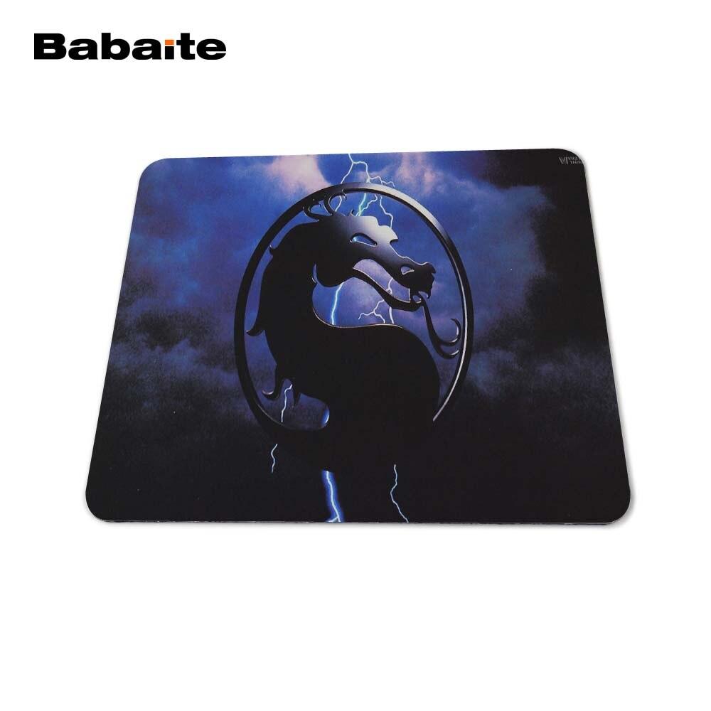 Babaite New 2017 Mortal Kombat Logo Mouse Pad Laptop - Համակարգչային արտաքին սարքեր - Լուսանկար 4