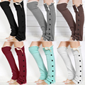 Knit Polainas de inverno Boot Toppers Crochet Polaina Knitted Leg Warmers for Women