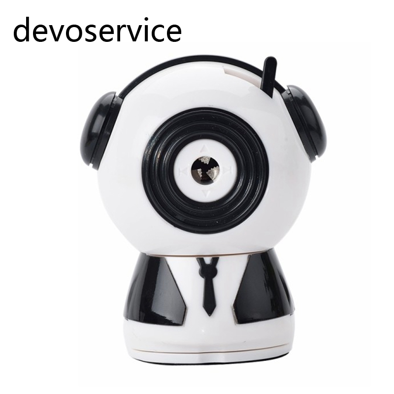Free shipping Music Daren Pencil Sharpener For Girls Boys Kids Gifts  Unique Mechanical Office School Supplies Stationery free shipping watchmakers screwdriver holder for sharpener