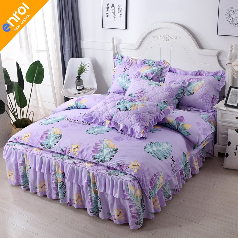 2018 hot sale 4pcs beding set comfortable duvet cover bed skirt and pillowcases cheap high quality bedding set2018 hot sale 4pcs beding set comfortable duvet cover bed skirt and pillowcases cheap high quality bedding set