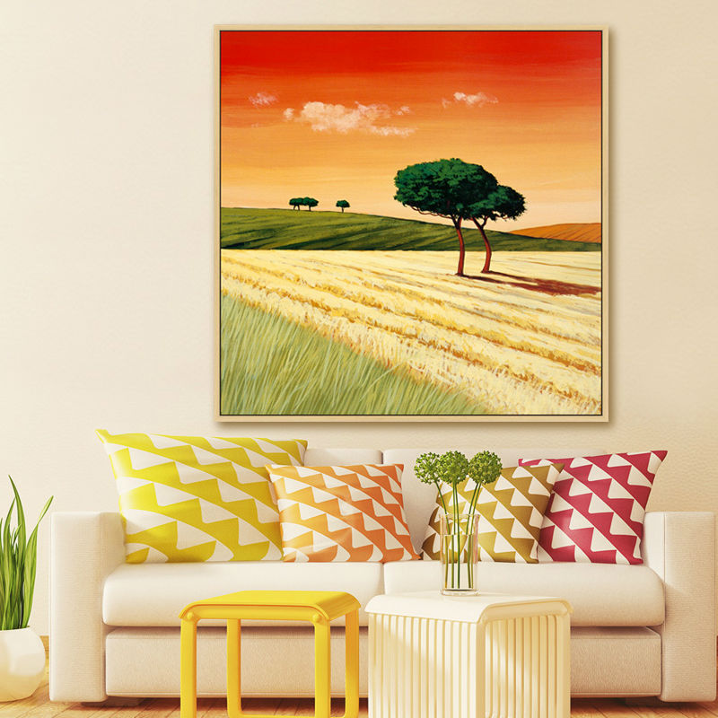 Artist sales hand painted oil painting on canvas decorative ...