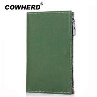 Passport Wallet RFID BLOCKING Genuine Leather Passport Cover Cowhide Passport Holder Case Cowherd Travel Wallet High
