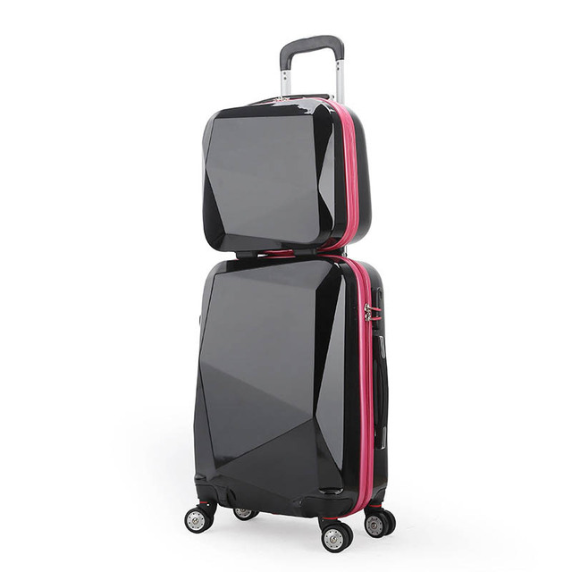 0a1ada38d4d3 BeaSumore Trolley Rolling Luggage Set Spinner Women Travel bag Suitcase  Wheels 20 inch Student Carry On Password Hardside Trunk