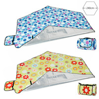 Portable Waterproof Camping Mat Picnic Mat Sand Beach Blanket Tent Mat Outdoor Sleeping Pad Home Yard Garden Baby Crawling Mat