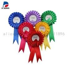 100 наборов 58 мм Цветок розетка Кнопка значок материал, можно сделать свадебные броши, без фотографий