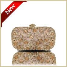 DHL Freies Hochzeitshandtaschen Clutch Abendtasche Mode Frauen Messenger Bags Luxus Strass Kristall Hochzeit Handtasche