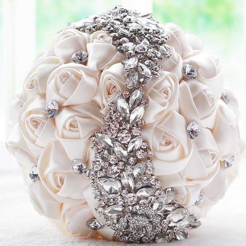 Weddings & Events Bouquet Bridal Europe Meteor Shower Gift Bride Holding Flowers Wedding Supplies To Rank First Among Similar Products
