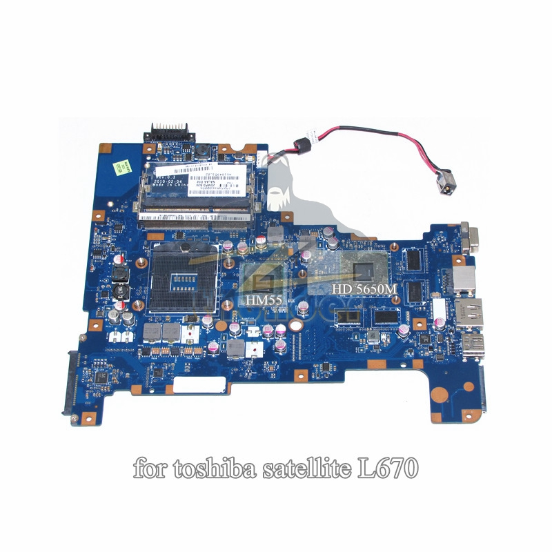 все цены на K000090008 LA-6042P for toshiba satellite L670 L670-11D laptop motherboard HM55 HD 5650M DDR3 онлайн