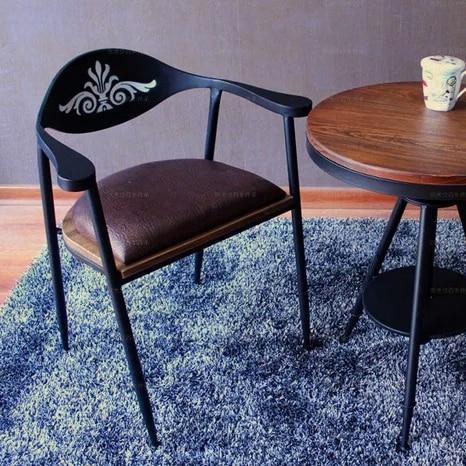 loft américaine fauteuil chaises chaise enfant en fer forgé basse en