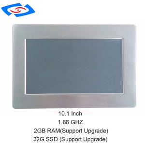 "Image 5 - Factory Store 10.1"" Industrial Panel PC With IPS Touch Screen Win10 Linux OS 2GB RAM 64G SSD Industrial Tablet PC"