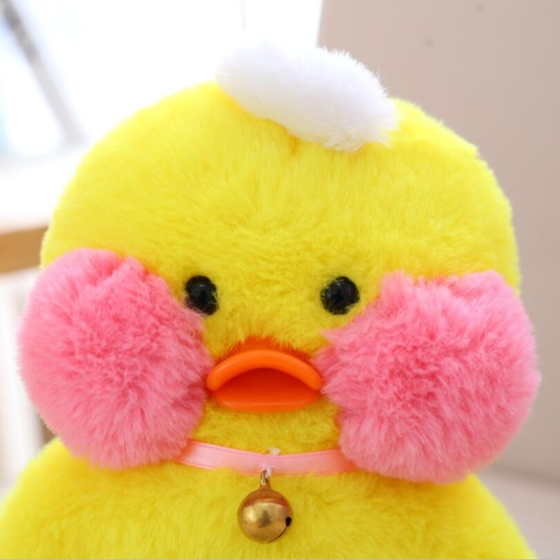 Hyaluronic Acid Blush Small Yellow Duck Plush Toys Dolls Birthday