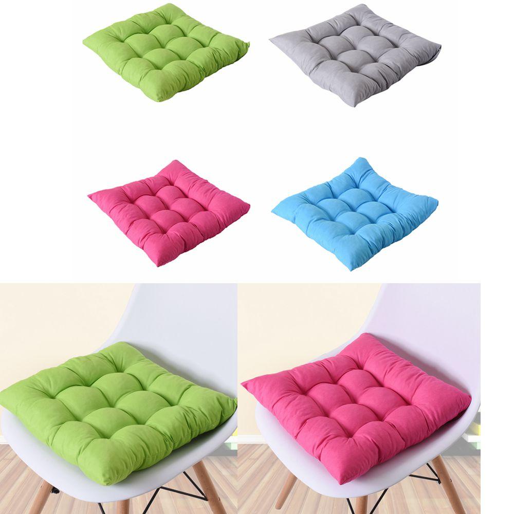 40x40cm Home Seat Cushion Pad Winter Office Bar Chair Back Seat Cushions Sofa Pillow Buttocks Chair Cushion